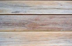 Struttura di legno Horizantal di Brown scuro Fotografie Stock Libere da Diritti