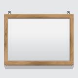 Struttura di legno isolata su bianco Fotografie Stock Libere da Diritti