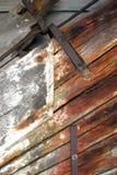 Struttura di legno marina Fotografia Stock