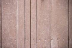 Struttura di legno marrone del fondo della parete sbiadita Weathered fotografia stock
