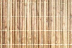 Struttura di legno naturale del fondo dei bordi di bambù fotografie stock libere da diritti