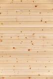 Struttura di legno naturale non colorata della parete Fotografia Stock