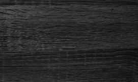 Struttura di legno nera Fotografie Stock