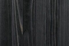 Struttura di legno nera Immagine Stock