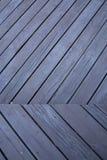 Struttura di legno nera del fondo delle plance Fotografia Stock