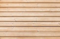 Struttura di legno non colorata del fondo della parete Fotografie Stock Libere da Diritti