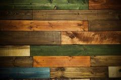 Struttura di legno per fondo o la carta da parati, colori multipli di legno Immagini Stock