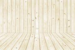 Struttura di legno per struttura della priorità bassa Parete e pavimento Immagini Stock