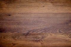 Struttura di legno di quercia fondo scuro per progettazione fotografie stock