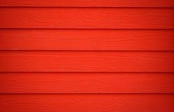 Struttura di legno rossa Fotografia Stock