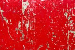 Struttura di legno rossa Fotografie Stock