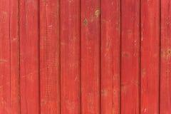 Struttura di legno rossa Immagini Stock