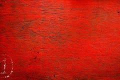 Struttura di legno rossa Immagine Stock