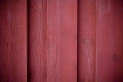 Struttura di legno rossa della parete fotografia stock libera da diritti