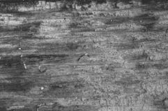 Struttura di legno scura del fondo Il nero woden la plancia fotografie stock libere da diritti