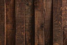Struttura di legno scura Pannelli di legno scuri del fondo fotografie stock libere da diritti