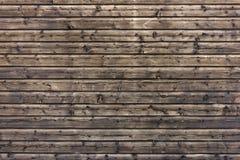 Struttura di legno scura Struttura marrone di legno vecchi comitati del fondo Priorità bassa rustica L'annata colorata sorge Fotografia Stock