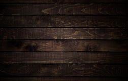 Struttura di legno scura vecchi comitati del fondo Immagine Stock Libera da Diritti