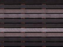 Struttura di legno senza cuciture del pavimento o della pavimentazione, pallet di legno Immagini Stock Libere da Diritti
