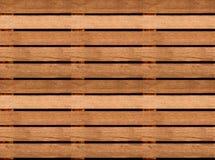 Struttura di legno senza cuciture del pavimento o della pavimentazione, pallet di legno immagine stock libera da diritti