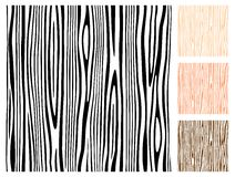 Struttura di legno senza giunte Fotografia Stock