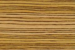 Struttura di legno a strisce leggera Fotografia Stock
