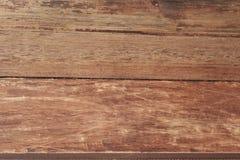 Struttura di legno, tavola di legno dello scrittorio o pavimento, vecchio legname a strisce Immagini Stock Libere da Diritti