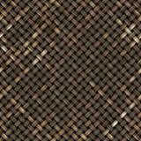 Struttura di legno tessuta Fotografia Stock