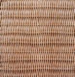 Struttura di legno tessuta tradizionale della natura del modello del rattan Immagine Stock Libera da Diritti