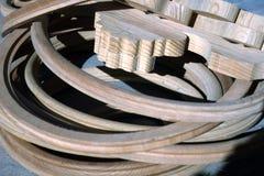 Struttura di legno di legno træ Baumaterial Fotografia Stock Libera da Diritti