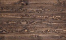 Struttura di legno vecchi comitati del fondo Chiuda su della parete fatta delle plance di legno Fotografia Stock