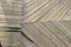 Struttura di legno. vecchie plance. Fotografia Stock
