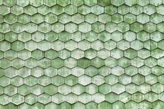 Struttura di legno verde Fotografia Stock