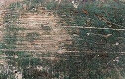 Struttura di legno verde Fotografia Stock Libera da Diritti