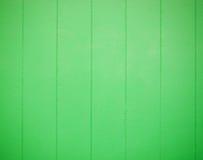 Struttura di legno verde con le bande verticali Immagini Stock Libere da Diritti