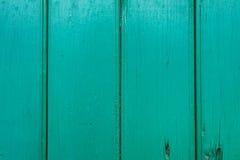 Struttura di legno verde, fondo di legno verde fotografia stock