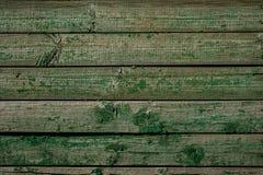 Struttura di legno verde per i regali della decorazione Fotografia Stock