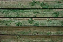 Struttura di legno verde per i regali della decorazione Fotografie Stock Libere da Diritti
