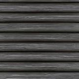 Struttura di legno di vettore dei bordi grigi invecchiati illustrazione di stock
