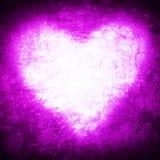 Struttura di lerciume colore porpora di forma del cuore - Colore del giorno di san valentino ...
