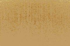 Struttura di lerciume dell'oro per creare effetto afflitto Elementi dorati del graffio della patina Illustrazione astratta d'anna Fotografia Stock Libera da Diritti