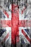 Struttura di lerciume della bandiera di Britannici Fotografia Stock
