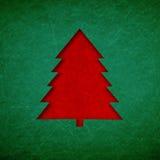 Struttura di lerciume di verde del fondo di Natale Immagini Stock Libere da Diritti