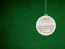 Struttura di lerciume di verde del fondo di Natale Fotografia Stock Libera da Diritti