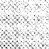 Struttura di lerciume su fondo bianco, vettore punteggiato astratto nero, sovrapposizione di semitono, progettazione approssimati royalty illustrazione gratis