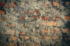 Struttura di lerciume di vecchio muro di mattoni Fotografie Stock Libere da Diritti