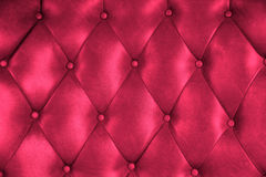 Struttura di lusso della sedia del bottone del cuoio della tappezzeria Fotografie Stock Libere da Diritti