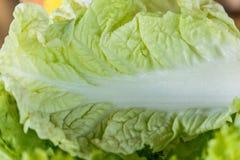 Struttura di macro del cavolo verde Foto del primo piano Prodotto-verdure fresche di vegetables Fotografia Stock