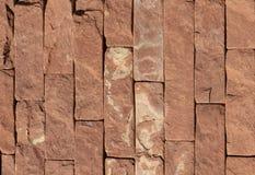 Struttura di marmo arancio della pietra, dell'ardesia, dell'arenaria e del travertino del rivestimento immagini stock libere da diritti