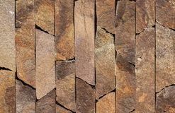 Struttura di marmo arancio della pietra, dell'ardesia, dell'arenaria e del travertino del rivestimento fotografia stock libera da diritti